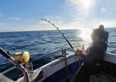 Stand up bluefin fishing